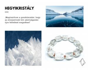 Lunaria ékszer egyedi kristály ékszerek
