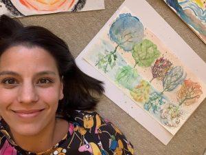 anyatérkép, stresszkezelés, művészetterápia
