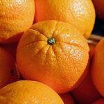 narancs, egyszerű diós sütemény