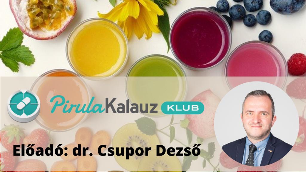 Pirula Kalauz, Immunrendszer tuning természetes anyagokkal előadás