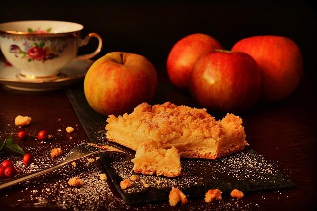 Almás pite mentával és mandulával – görög módon
